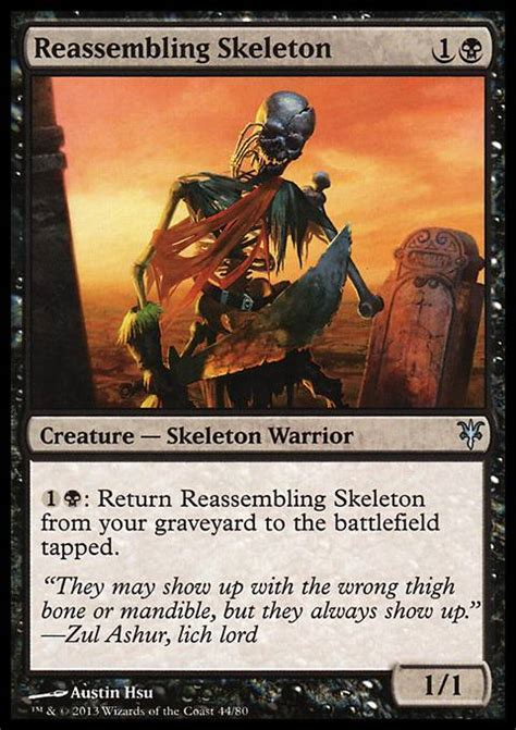reassembling skeleton mm2 mtg card