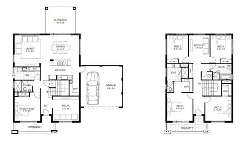 photos and inspiration storey house floor plans 5 bedroom house designs perth storey apg homes