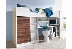 Kinderbett Mit Schreibtisch Und Kleiderschrank : bett online kaufen otto ~ Markanthonyermac.com Haus und Dekorationen