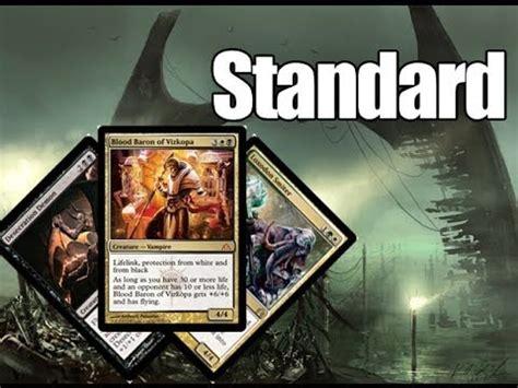 mtg standard deck tech junk midrange theros standard