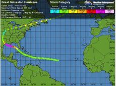 Great Galveston Hurricane Weather Underground