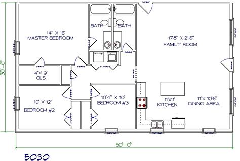 barndominium floor plans 30x50 studio design gallery best design