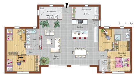 maison bois d 233 du plan de maison bois faire construire sa maison