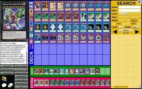 yu gi oh archetype profile deck quantum by