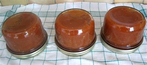 sterilisation bocaux sauce tomate table de cuisine