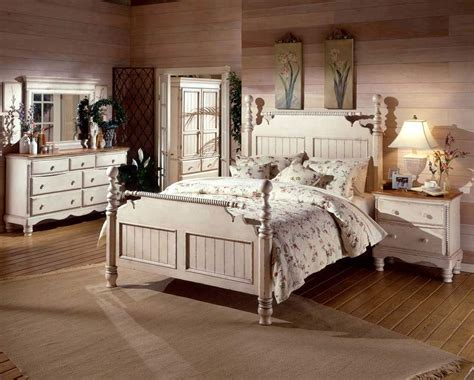 Rustic White Bedroom Furniture Home