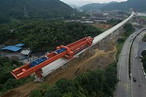 China publishes latest images of high-speed rail viaduct ...