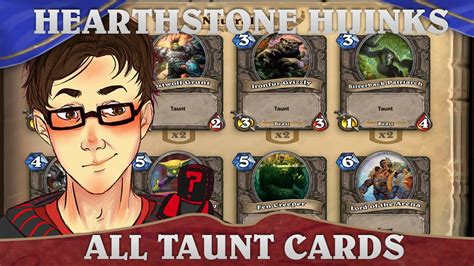 hearthstone hijinks all taunt deck