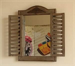 Kleiner Gartenzaun Holz : kleiner spiegel mit fensterladen wandspiegel holz braun used look neu ebay ~ Whattoseeinmadrid.com Haus und Dekorationen