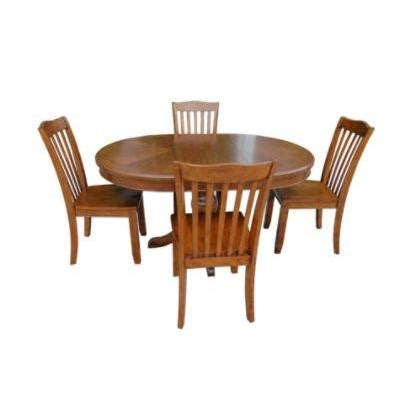 072213t  Pedestal Dining Table  Sears Outlet