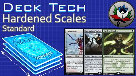g w hardened scales standard deck tech battle for zendikar mtg