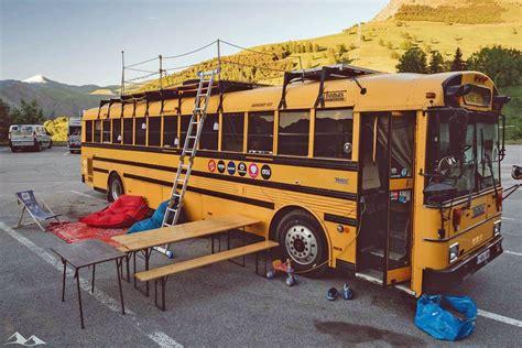 Tour The Best Five School Bus Houses