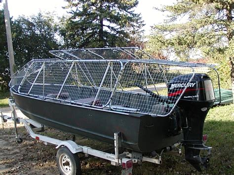 Duck Hunting Boats Made In Ohio by Skybuster Duck Boat Blinds