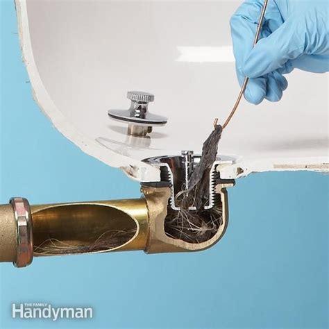 17 best ideas about unclog bathtub drain on