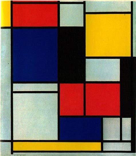 Piet Mondrian nometoqueselpost el efecto mondrian
