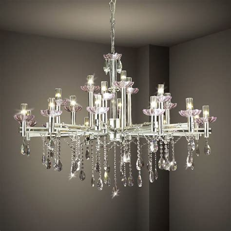 hanging modern chandelier lighting with stainless steel candle stand and frame ideas