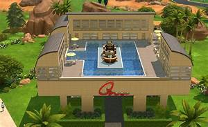 Mod The Sims - Shopping Center with parking lot