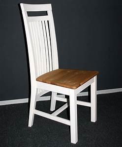 Tagesbett Holz Weiß : stuhl aus holz holzstuhl st hle kiefer massiv wei gelaugt ~ Markanthonyermac.com Haus und Dekorationen