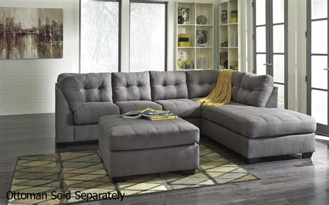 4520017 4520066 grey fabric sectional sofa