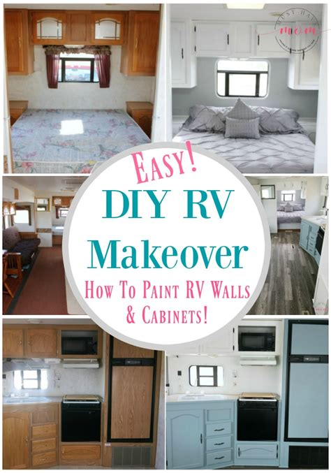 Easy Rv Remodeling Instructions + Rv Makeover Reveal