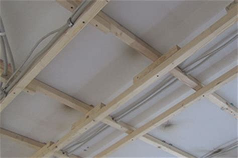 Decke Abhängen  Holzkonstruktion Herstellen Anleitung