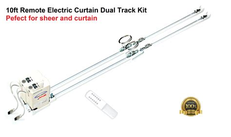 Motorized Curtain Track Canada by 122 Remote Electric Curtain Rods Cl200t3m