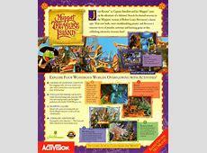 Muppet Treasure Island 1996 Macintosh box cover art