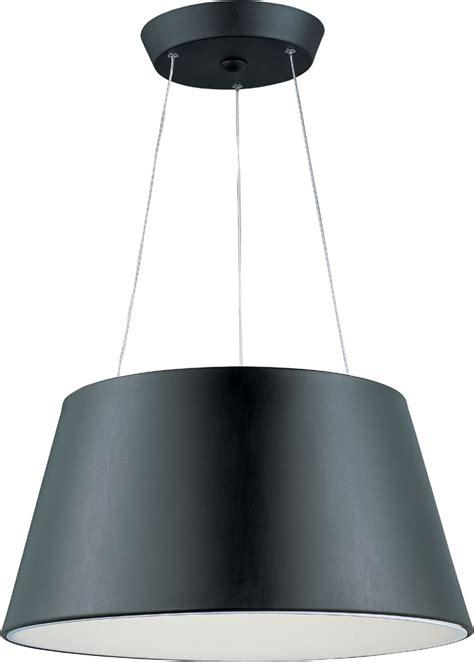 et2 e20908 bk quantum modern black led drop ceiling lighting et e20908 bk
