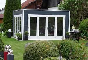 Gartenhaus Modernes Design : design gartenhaus cubus wave 44 iso ~ Markanthonyermac.com Haus und Dekorationen