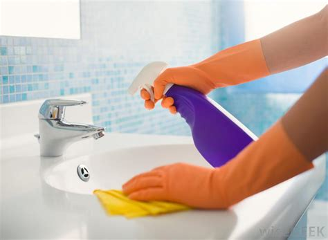 How To Clean A Bathroom Sink?