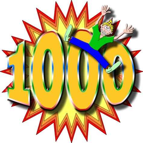 1000?? Si, 1000!!!  El Abc De La Vida Blog