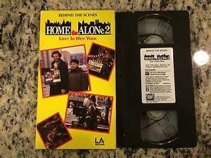 Behind The Scenes Home Alone 2 Lost In New York Mega Rare Oop Promo Vhs Htf! Ebay