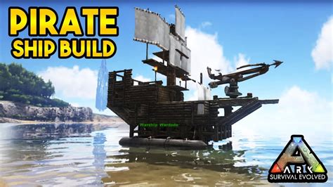 Ark Boat Youtube by Pirate Ship Build Ark Survival Evolved Youtube
