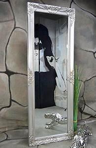 Wandspiegel Antik Silber : livitat wandspiegel spiegel badspiegel barock antik silber 140 x 50 cm ~ Whattoseeinmadrid.com Haus und Dekorationen