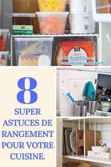 8 astuces de rangement pour votre cuisine