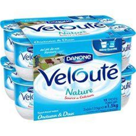 danone veloute yaourt brasse nature les 12 pots de 125g tous les produits yaourts natures