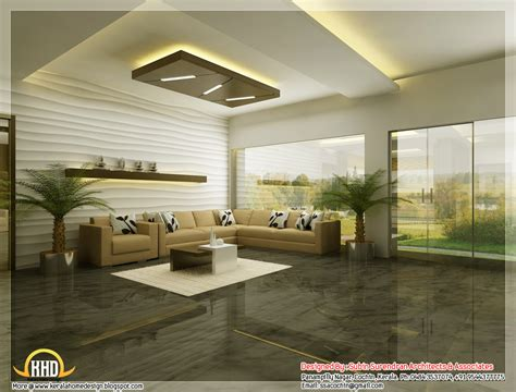 Beautiful 3d Interior Office Designs  Kerala House Design
