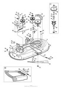 troy bilt 13an77ks066 pony 2013 parts diagram for mower