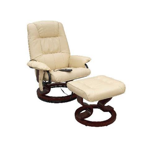 fauteuil massant de relaxation avec repose pied achat vente fauteuil polyur 233 thane cdiscount