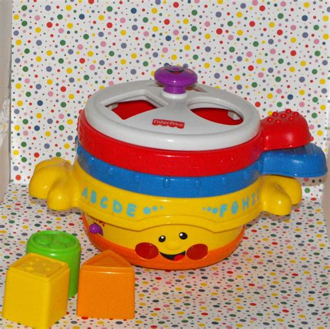 fisher price learning pots and pans