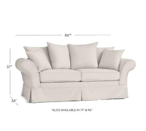 charleston sofa slipcover pottery barn charleston
