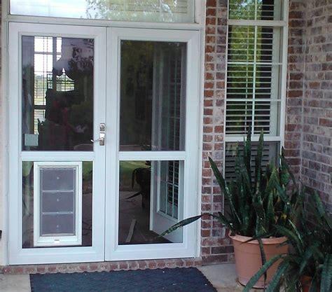 doors marvellous door with door built in pet doors for sliding glass doors patio