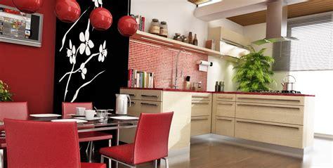 Chinesekitchendesignredscheme  Interior Design