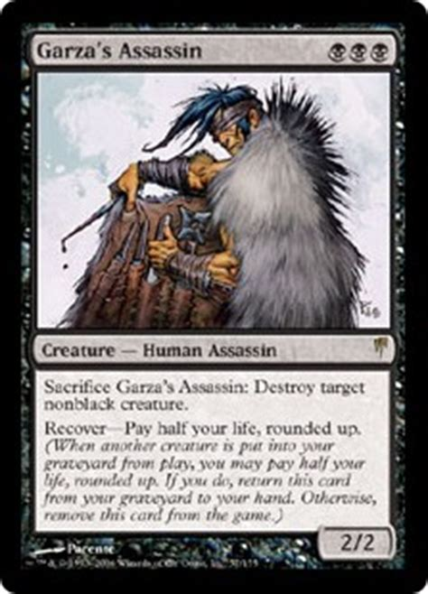 Mtg Assassin Token Deck by Card Search Search Assassin Gatherer Magic The