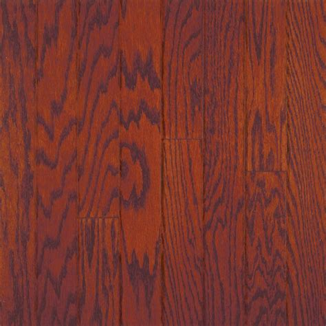 millstead oak bordeaux 3 8 in thick x 4 1 4 in wide x random length engineered click wood