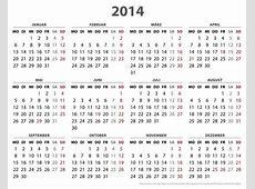 2014 Calendar Events & Special Days US