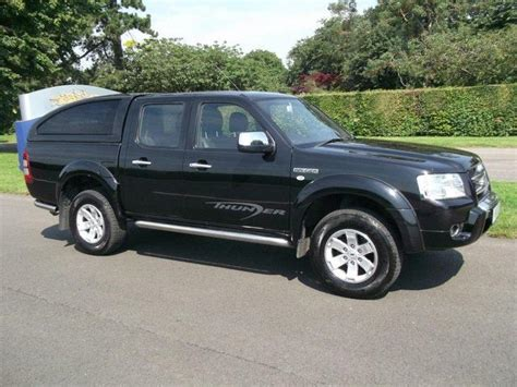 used ford ranger 2009 diesel up thunder 4x4 black with for sale autopazar