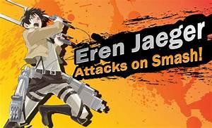 Eren Jaeger Attacks on Smash by TRice01 on DeviantArt