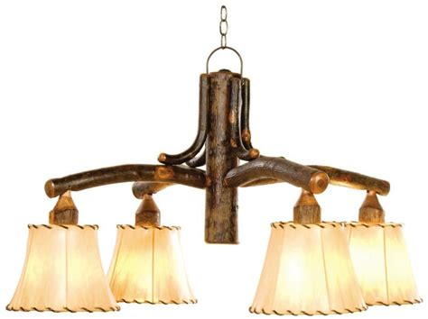 Old Hickory Bungalow Chandelier  Rustic Lighting & Fans