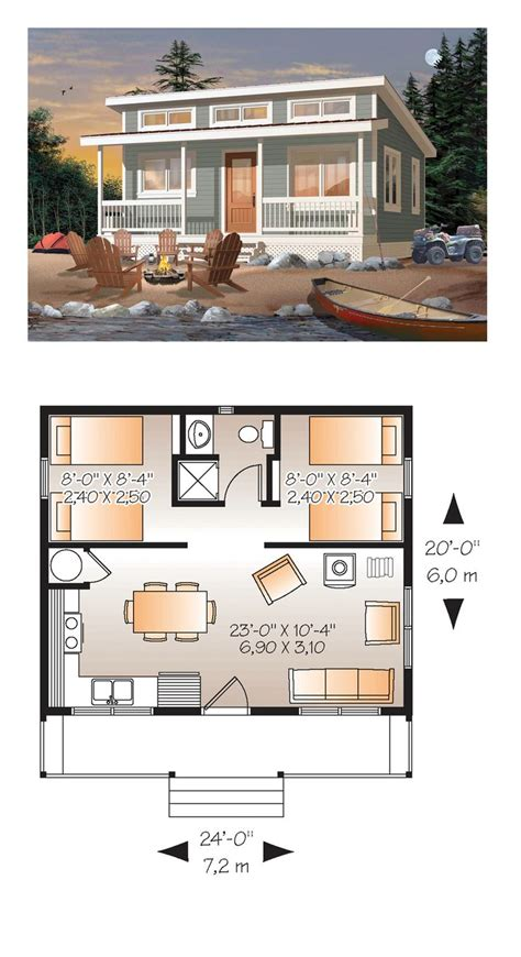 15 must see cottage house plans pins small home plans one bedroom pool house floor plans
